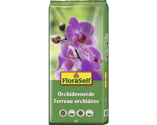Orchideenerde FloraSelf 5 L