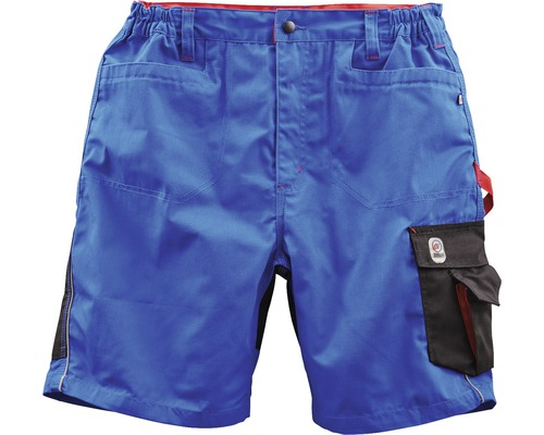 TX Workwear Short Gr. 50 royal/rot