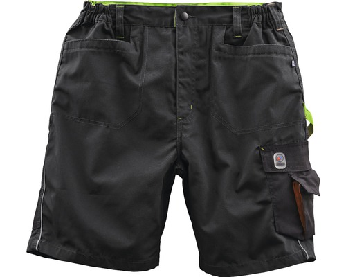 TX Workwear Short Gr. 58 schwarz/lime