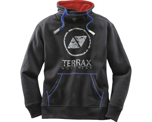 TX Workwear Sweatshirt Gr.L schwarz/royal