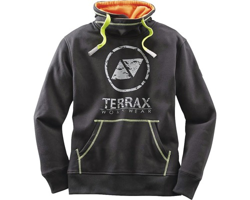 TX Workwear Sweatshirt Gr.3XL schwarz/lime