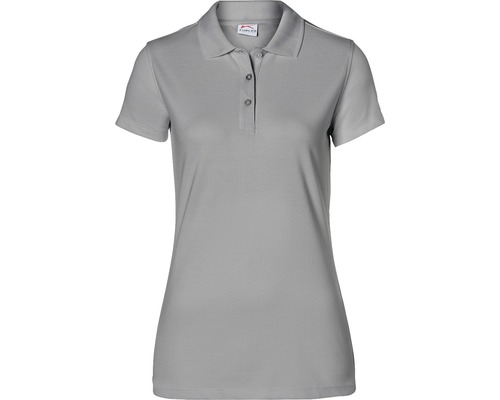 Kübler Shirts Polo Damen, grau, Gr. 3XL