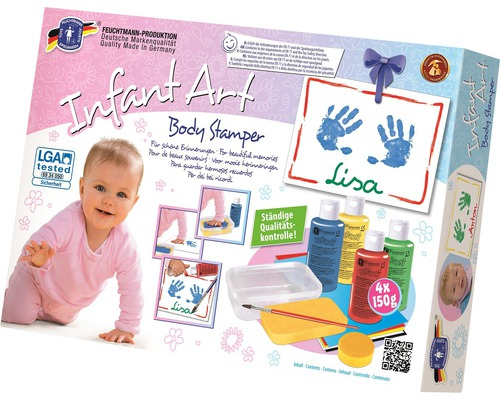 Knetabdruck-Set Infant Art Body Impression