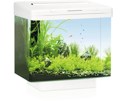 aquarium juwel vio 40 mit led beleuchtung filter ohne unterschrank wei bei hornbach kaufen. Black Bedroom Furniture Sets. Home Design Ideas