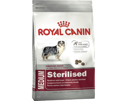 hundefutter trocken royal canin medium sterilised 3 kg bei hornbach kaufen. Black Bedroom Furniture Sets. Home Design Ideas