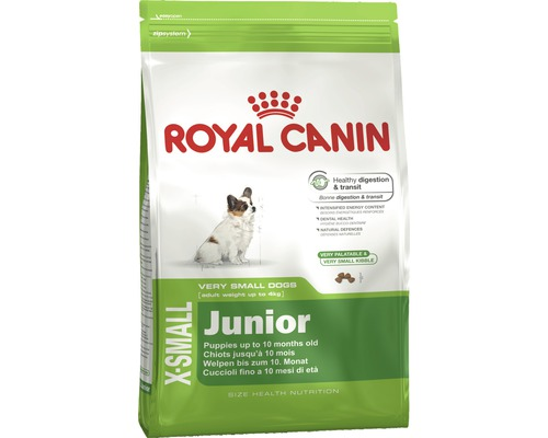 hundefutter trocken royal canin x small junior 1 5 kg bei hornbach kaufen. Black Bedroom Furniture Sets. Home Design Ideas