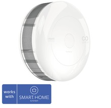 Fibaro CO Melder SMART HOME by hornbach weiß Ø 65 H 28 mm FIBEFGCD-001 mit Temperatursensor