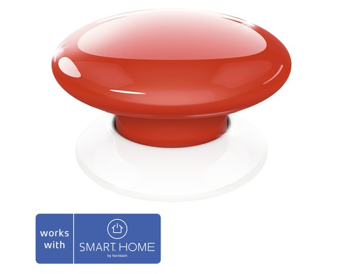 Fibaro Smart Button rot Kompatibel mit all SMART HOME by hornbach