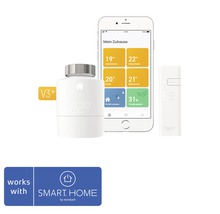 tado° Smartes Heizkörper-Thermostat Starter Kit V3+ Kompatibel mit all SMART HOME by hornbach