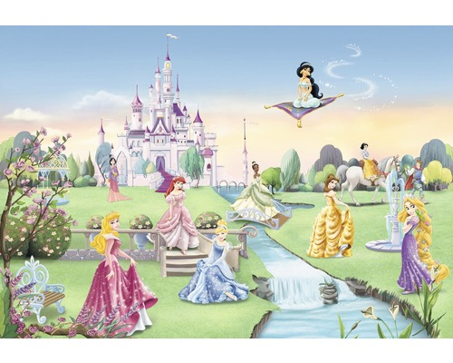 fototapete disney edition 2 princess castle 368 x 254 cm. Black Bedroom Furniture Sets. Home Design Ideas