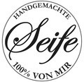 "Label ""Handgemachte Seife"", 45mm ø"
