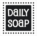 "Label ""Daily Soap"" 50x50 mm"
