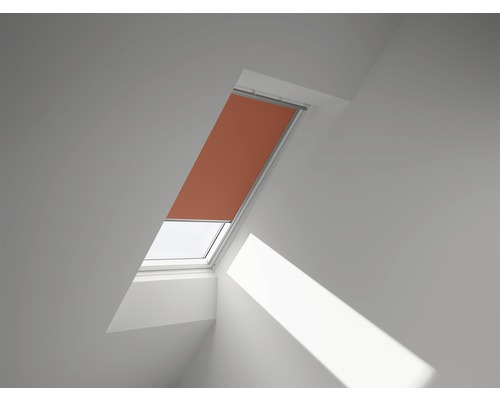 VELUX Verdunkelungsrollo uni orange manuell DKL UK08 4564SWL