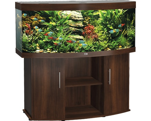 aquariumkombination juwel vision 450 mit unterschrank dunkelbraun bei hornbach kaufen. Black Bedroom Furniture Sets. Home Design Ideas