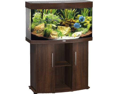 aquariumkombination juwel vision 180 mit unterschrank dunkelbraun bei hornbach kaufen. Black Bedroom Furniture Sets. Home Design Ideas