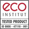 ECO INSTITUT TESTED PRODUCT