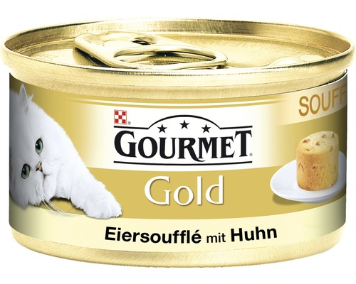 katzenfutter nass gourmet gold souffl mit huhn 85 g bei hornbach kaufen. Black Bedroom Furniture Sets. Home Design Ideas