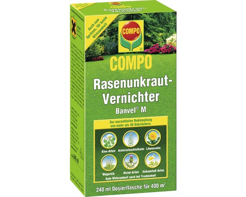 rasenunkrautfrei banvel compo 240ml bei hornbach kaufen. Black Bedroom Furniture Sets. Home Design Ideas