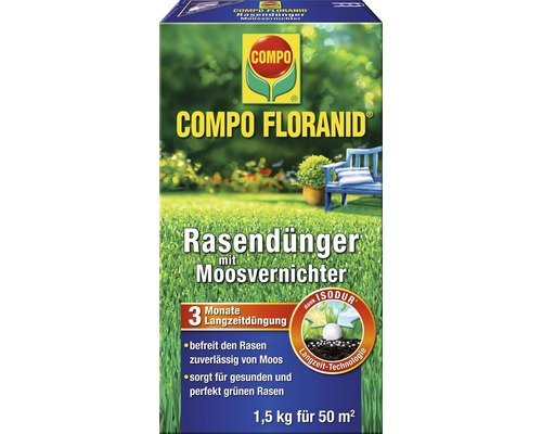 rasen floranid mv compo 1 5kg bei hornbach kaufen. Black Bedroom Furniture Sets. Home Design Ideas