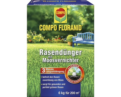 rasen floranid mv compo 6kg bei hornbach kaufen. Black Bedroom Furniture Sets. Home Design Ideas