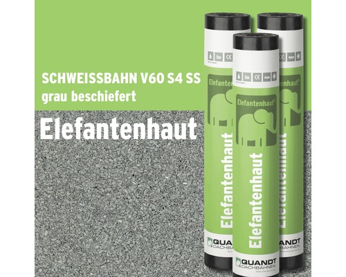 bitumen schwei bahn elefantenhaut v60 s4 grau beschiefert rolle 5 m bei hornbach kaufen. Black Bedroom Furniture Sets. Home Design Ideas