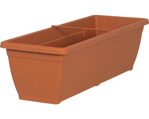 blumenkasten geli toscana kunststoff 60x20x16 cm terracotta bei hornbach kaufen. Black Bedroom Furniture Sets. Home Design Ideas