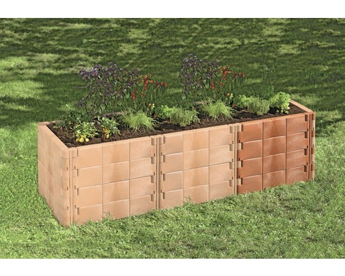 anbausatz juwel f r hochbeet profiline terracotta bei hornbach kaufen. Black Bedroom Furniture Sets. Home Design Ideas