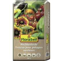Hochbeeterde FloraSelf Nature 50 L