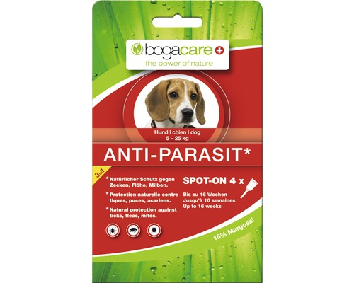 bogacare Anti-Parasit Spot-On 4 x 1,5 ml