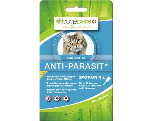 bogacare Anti-Parasit Spot-On 4 x 0,75 ml
