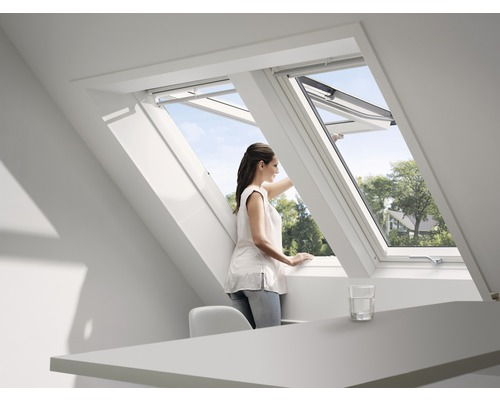 klapp schwingfenster velux gpu ck04 0060 thermo plus bei hornbach kaufen. Black Bedroom Furniture Sets. Home Design Ideas