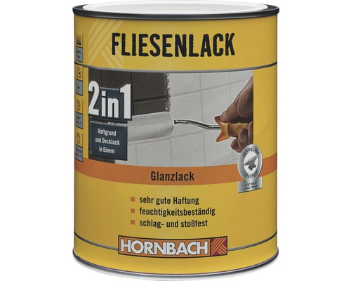 fliesenlack fliesenfarbe 2in1 glanz wei 1 l bei hornbach kaufen. Black Bedroom Furniture Sets. Home Design Ideas