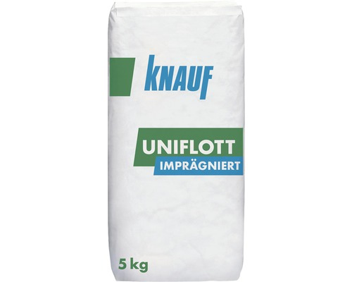 spachtelmasse knauf uniflott impr gniert 5 kg bei hornbach kaufen. Black Bedroom Furniture Sets. Home Design Ideas