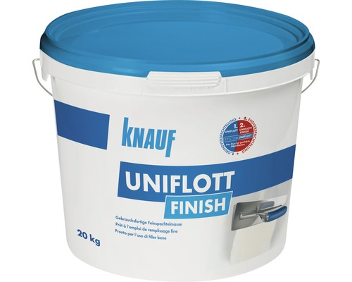 spachtelmasse knauf uniflott finish 20kg bei hornbach kaufen. Black Bedroom Furniture Sets. Home Design Ideas