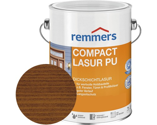remmers compact lasur pu afrormosia 2 5 l bei hornbach kaufen. Black Bedroom Furniture Sets. Home Design Ideas