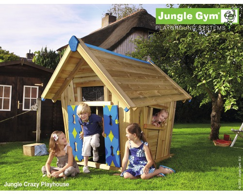 Kinderspielhaus Jungle Gym Crazy Playhouse bei HORNBACH kaufen