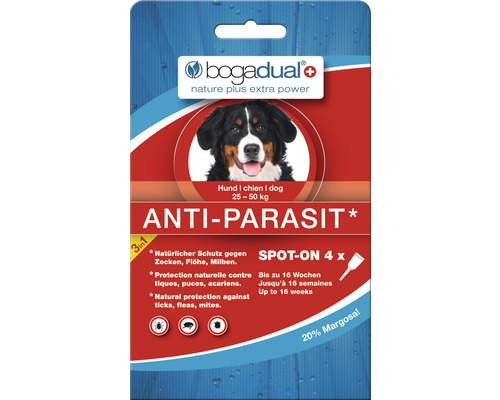bogadual Anti-Parasit Spot-On Hund 4 x 2,5 ml