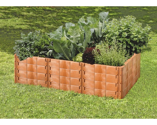 hochbeet klassisch juwel profiline gr 2 192x121x52 cm terracotta bei hornbach kaufen. Black Bedroom Furniture Sets. Home Design Ideas