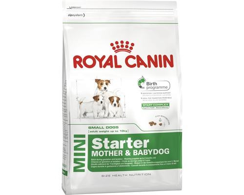 hundefutter trocken royal canin cc mini starter 3 kg bei hornbach kaufen. Black Bedroom Furniture Sets. Home Design Ideas