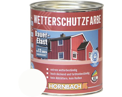 holzfarbe wetterschutzfarbe wei 750ml bei hornbach kaufen. Black Bedroom Furniture Sets. Home Design Ideas