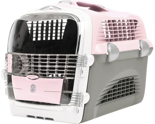 transportbox catit design f r katzen grau rosa bei hornbach kaufen. Black Bedroom Furniture Sets. Home Design Ideas