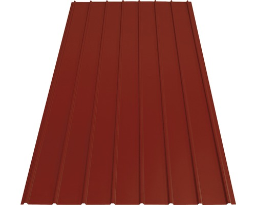 PRECIT Trapezblech H12 brown red 2000x910x0,4 mm