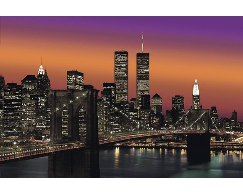 poster new york brooklyn bridge 61x91 5 cm bei hornbach kaufen. Black Bedroom Furniture Sets. Home Design Ideas