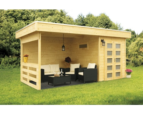 blockbohlenhaus konsta aspen 3 500 x 250 cm natur bei. Black Bedroom Furniture Sets. Home Design Ideas