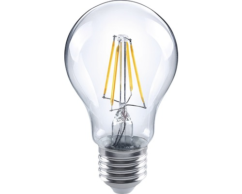 FLAIR LED Lampe E27/4(40)W A60 Filament Klar 470 Lm 2700 K