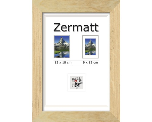 bilderrahmen holz zermatt eiche 13x18 cm bei hornbach kaufen. Black Bedroom Furniture Sets. Home Design Ideas