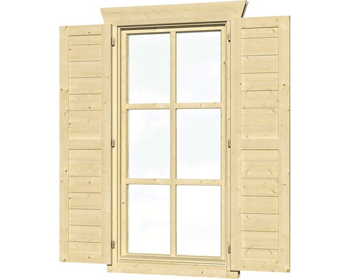 fensterl den skan holz einzelfenster 28 45 mm gro natur. Black Bedroom Furniture Sets. Home Design Ideas