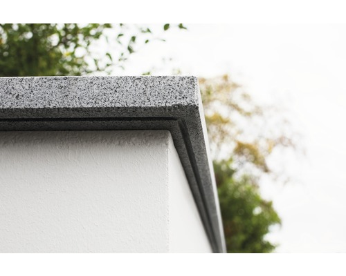flairstone mauerabdeckung flach stahlgrau 120x33x3 cm bei hornbach kaufen. Black Bedroom Furniture Sets. Home Design Ideas