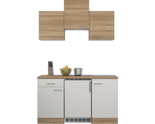 singlek che samoa 150 cm wei sonoma eiche bei hornbach kaufen. Black Bedroom Furniture Sets. Home Design Ideas