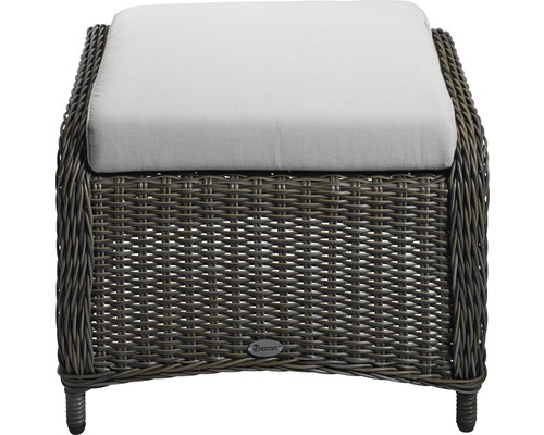 gartenhocker destiny merano polyrattan grau bei hornbach kaufen. Black Bedroom Furniture Sets. Home Design Ideas